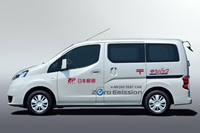 Nissan begins global proving tests for NV200 electric vehicles