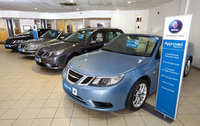 Two-year free servicing plan available on Approved Used Saabs