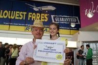Ryanair welcomes its 30 millionth Scottish passenger