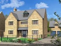 Three remaining – Linden Homes nearing completion of its Whittington's Meadow development at Nassington.