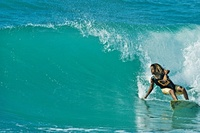 Surf's up in Jamaica this July