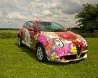 Renowned artist paints the perfect picture with Alfa Romeo