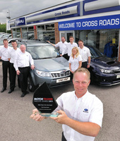 Cross Roads Subaru wins top industry award