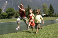 Family holidays in the French Alps