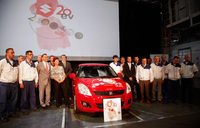 2 millionth Hungarian-made vehicle rolls off the line at Magyar Suzuki