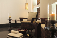 The Chedi Muscat Pedicure Chair at the Spa