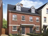 An artist's impression of the 'Brutus' property type at Taylor Wimpey's Old Welwyn Mews development in Welwyn.