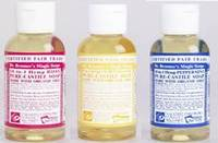 Dr Bronners: Your essential travel companion