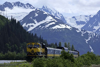 Rail and ice combine for a new Spencer Glacier tour