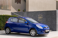 Hyundai i20 Blue emits a tiny 98g/km of CO2