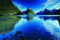 Milford Sound in summer - credit Tourism New Zealand