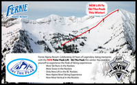 Fernie Alpine Resort opens Polar Peak Lift