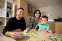 Young family discover ideal holiday home at Caedmon's
