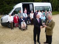 Stow Disability Association Volkswagen Crafter handover
