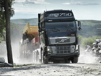 Volvo Trucks' flagship celebrates with 750hp