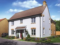 An artist's impression of the 'Framlingham' housetype at Taylor Wimpey's Woodlands Park development in Bedford