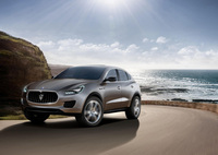 Maserati's vision of a high performing sport luxury SUV
