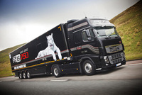 Volvo FH16-750 Truckstop Tour heads for Scotland