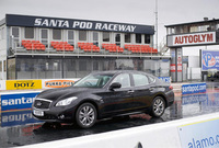 Infiniti M35h speeds into the record books