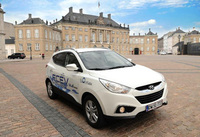 EU officials to drive fuel-cell Hyundai ix35