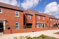 Crest Nicholson homes at The Furlongs, Hereford, are proving popular.