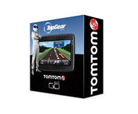 TomTom satnav featuring The Stig and Clarkson