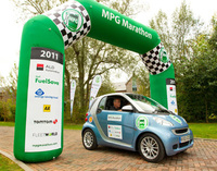 smart driving gives Mick the MPG Marathon hat-trick