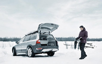 Get a grip with Volvo's winter wonderland