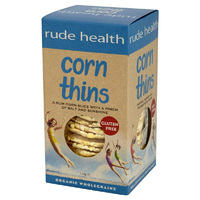New gluten-free Corn Thins from Rude Health
