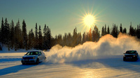 The ultimate driving test - high speed ice race driving in Finland