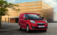 Vauxhall's new Combo panel van breaks cover