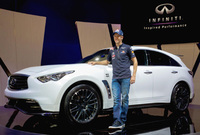 Sebastian Vettel's Infiniti FX to enter production