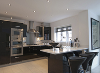 Typical Taylor Wimpey Show Home Kitchen