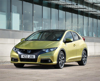 New Honda Civic secures strong residual values