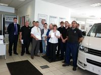 Cheltenham Volkswagen Van Centre wins top award