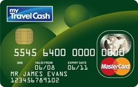 my Travel Cash Multi-Currency card