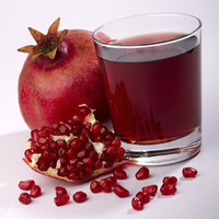 New organic pomegranate juice from Organic Village