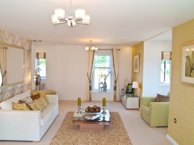 Typical Taylor Wimpey Show Home Living Room
