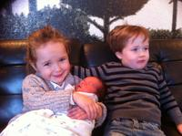 Grace Tom and Baby Violet