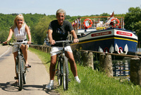 Barging and Biking - A new concept from European Waterways