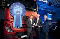 New Mercedes-Benz Actros International Truck of the Year 2012