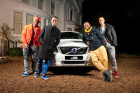JLS: Driven by Volvo - in latest music video 'Do You Feel What I Feel?'