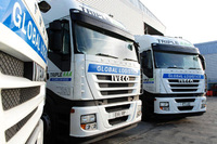 Trio of Stralis' for Triple A Transport Services