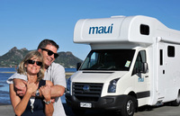 Maui offers up to 35% off New Zealand motorhome hire