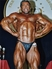 Mike Mitchell after winning a Mr Universe title