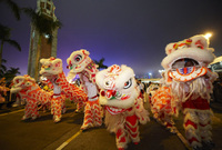 Hong Kong welcomes The Year of the Dragon