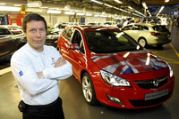 Astra popularity pushes Ellesmere Port to record line rates