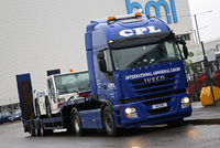 Continental work awaits CPL Transport Services' new Iveco Stralis