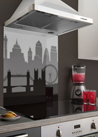 Bring London's iconic landscape into the kitchen