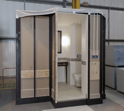 Caledonian bathroom pods make a big splash easier